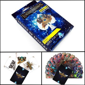 league of legends Playing Cards Entertainment Poker for Party Anime Comics Character Collector's Edition Playing Cards
