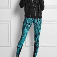 Nike | Epic Lux snake-print stretch-jersey leggings | NET-A-PORTER.COM