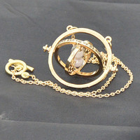 Time Turner necklace sandglas charm necklace