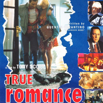 True Romance 27x40 Movie Poster (1993)