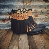 Black Beauty Gypsy Boots from Ritzy Gypsy Boutique