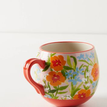 Painted Poppies Mug