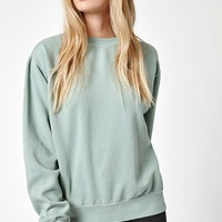 John Galt Green Erica Crew Neck Sweatshirt at PacSun.com