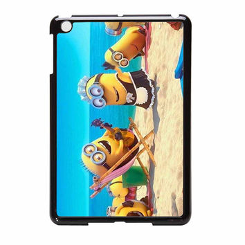 Despicable Me Minions On Beach iPad Mini Case