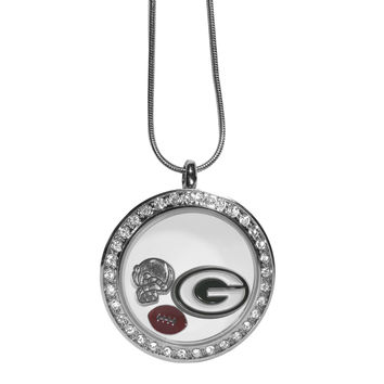 Green Bay Packers Locket Necklace