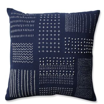 Tribal Sampler 100% Cotton Throw Pillow