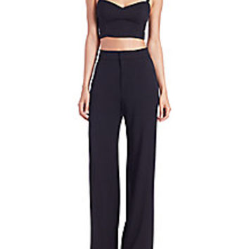 Black Halo - Kalem Two-Piece Jumpsuit - Saks Fifth Avenue Mobile