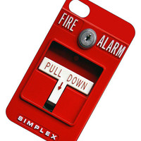 Fire Alarm Iphone 4 Case, iPhone cover - iPhone 4s Case Cover