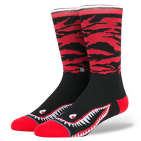 Stance Warhawk A Socks In Red