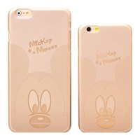Gold Mickey Mouse Case - iPhone 6
