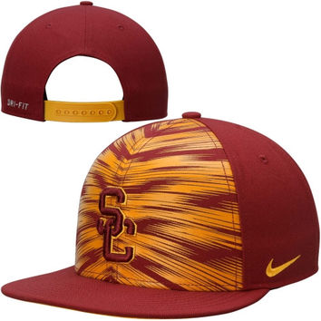 USC Trojans Nike True 2014 Players Game Day Adjustable Snapback Hat - Cardinal