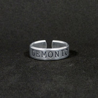 Demonic - Ring - Aluminum Ring