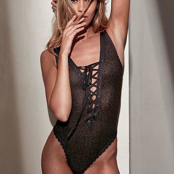 Lace-up Teddy - Dream Angels - Victoria's Secret