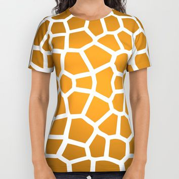 Giraffe All Over Print Shirt by Liberation's | Society6