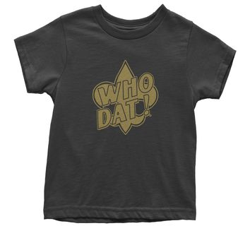 Who Dat? New Orleans Football  Youth T-shirt