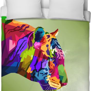 ROB Silent Tiger Duvet Cover
