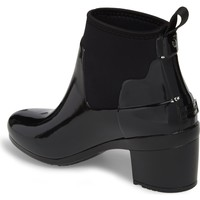 Hunter Original Refined Gloss Chelsea Rain Bootie (Women) | Nordstrom