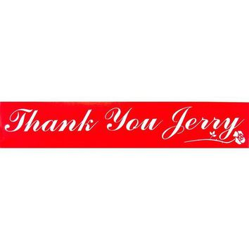 PEAPGQ9 Grateful Dead - Thank You Jerry Decal