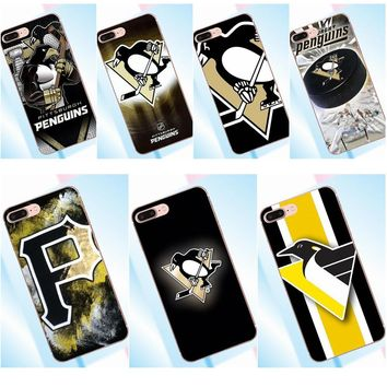 Tpwxnx Soft Phone Case Pittsburgh Penguins Nhl Team Logo For LG G2 G3 mini spirit G4 G5 G6 K4 K7 K8 K10 2017 V10 V20 V30