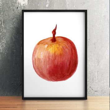 Star apple decor Kitchen print Fruit poster Food print ACW439
