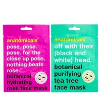 Anatomicals Mask Your Horribleness - Botanical Cloth Face Mask 50g