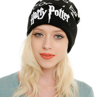 Harry Potter Symbols Pom Beanie