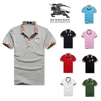 Burberry Fashion Polo Men T-Shirt - Best Deal Online