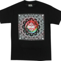 Dgk Trippy World Ss S-Black