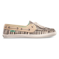 Vans Mexi Chauffette Womens Shoes Black/Pale Khaki  In Sizes