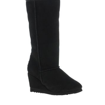Love From Australia Tall Party Wedge Boots