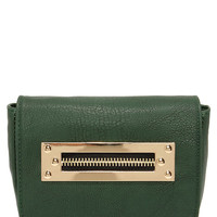 Zip the Light Fantastic Forest Green Purse