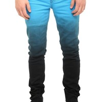 RUDE Turquoise Ombre Skinny Jeans - 300300
