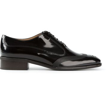 Salvatore Ferragamo varnished derby shoes