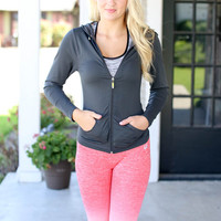 Get Fit Seamless Jacket - Black