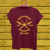 GRYFFINDOR harry potter T-Shirt Unisex Adults Size S to 2XL
