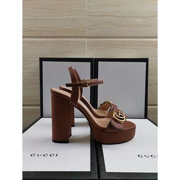 GUCCI Women Fashion Sandal Slipper Shoes