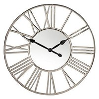 Bilquisse Wall Clock | Silver | Color Guide | Trends | Z Gallerie