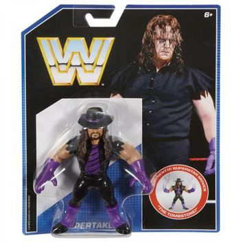The Undertaker WWE Retro Wrestling Figure NIB Mattel WWF new in package