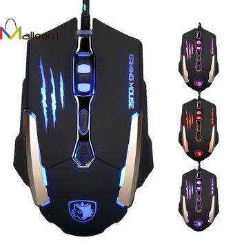 7 Buttons 3500 DPI Wired LED Gaming Mouse