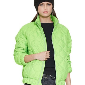 Polo Ralph Lauren Quilted Down Bomber Jacket