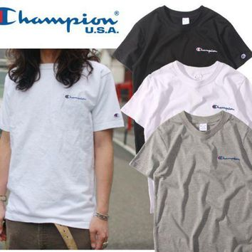 DCCK7XP Champion Embroidered T-Shirt