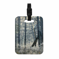 "Chelsea Victoria ""Out Of The Woods"" Nature Photography Decorative Luggage Tag"