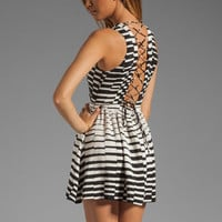 Parker Ancho Dress in Ivory Pop from REVOLVEclothing.com