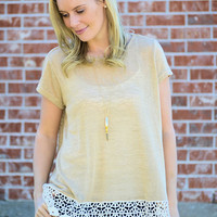 Leap Of Lace Top