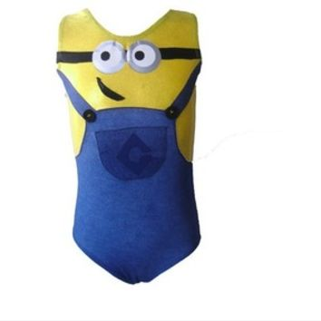 Minion Gymnastics Leotard - Blue