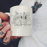 Studio Ghibli Mug, Ceramic Mug, Coffee Mug, tea mug,