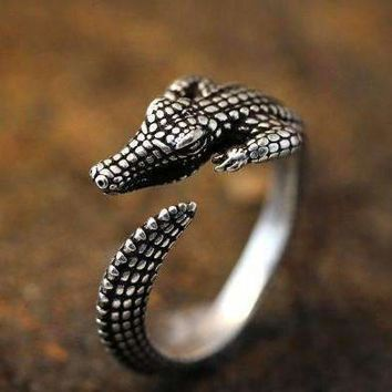 ON SALE - Gator Growl Adjustable Ring