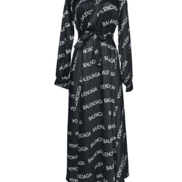 BANLENCIAGA Womens Long Dress