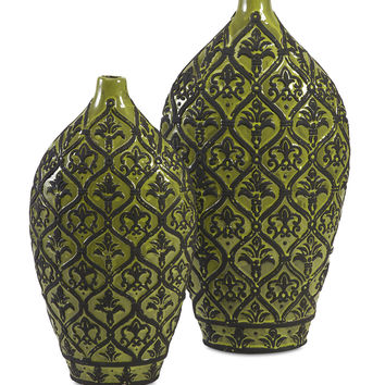 Amaury Ceramic Vase - Set of 2