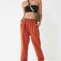 Urban Renewal Remade Overdyed Pull-On Pant | Urban Outfitters
